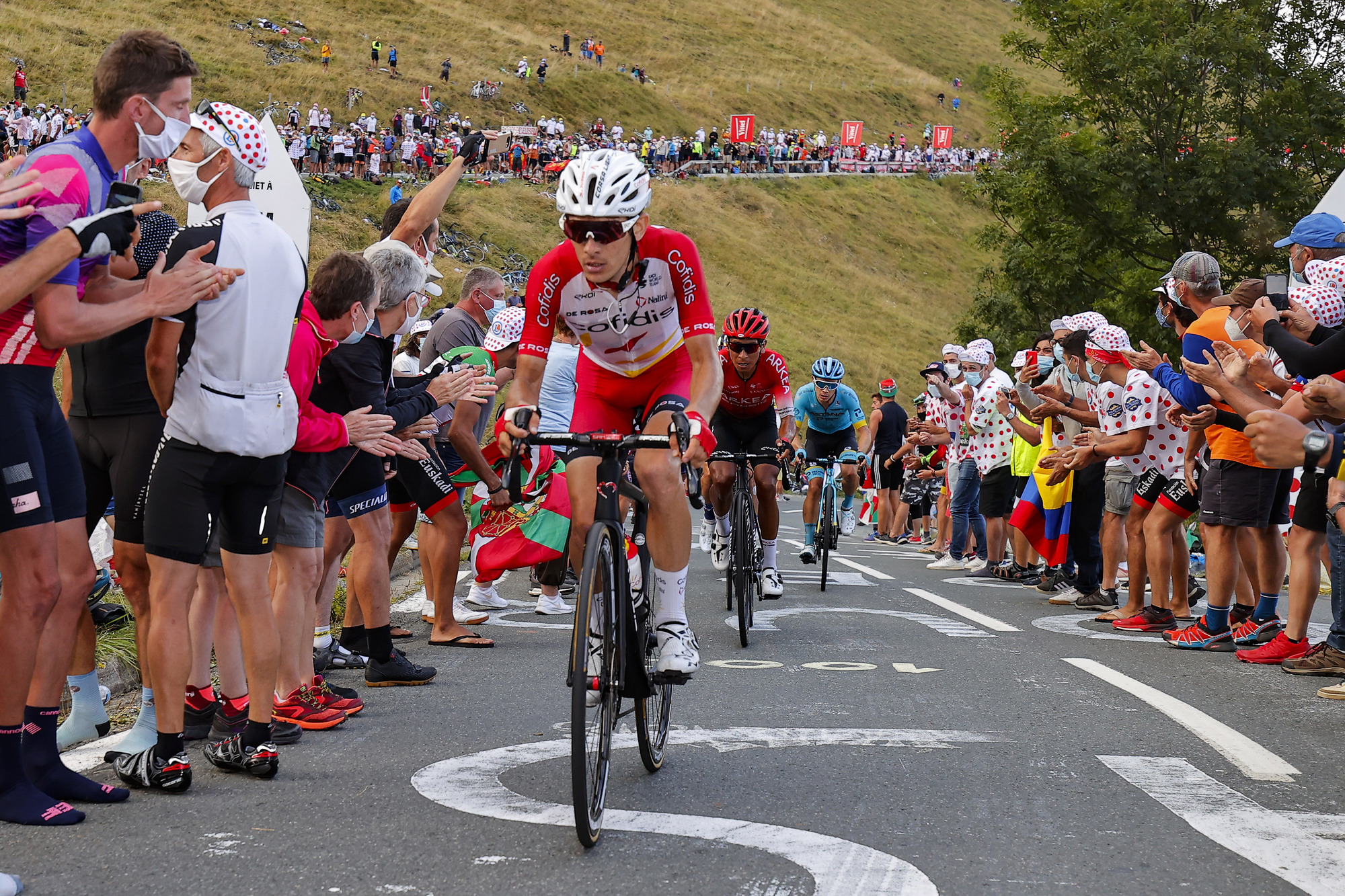 Guillaume Martin (Cofidis) has ridden strongly at the 2020 Tour de France – the fourth of his career – and goes into the race's first rest day in third place overall