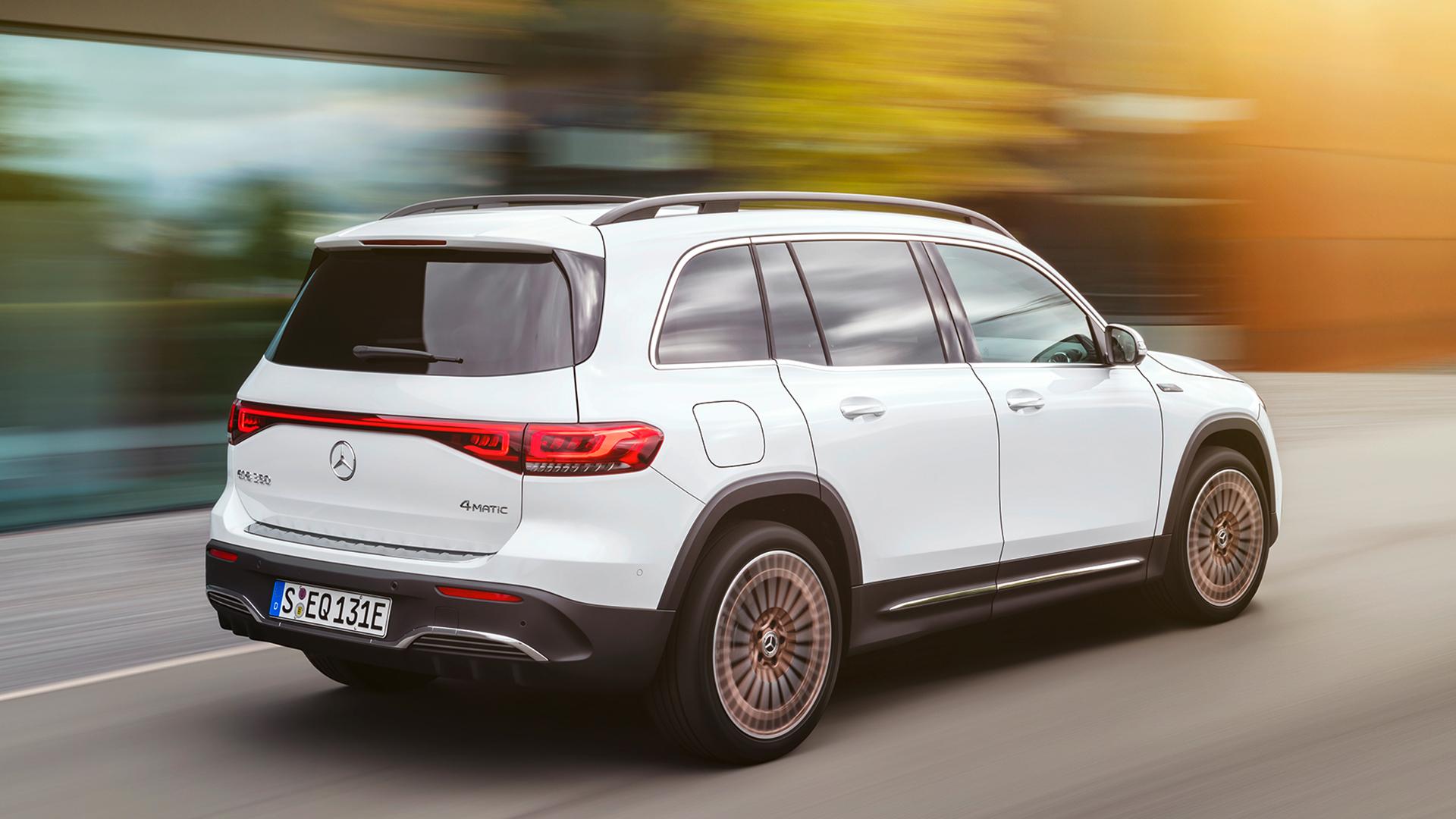 Mercedes-Benz EQB rear