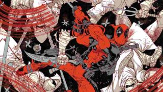 cover of Deadpool: Black, White, and Blood #1