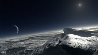 Pluto's Atmosphere Warmer Than Thought