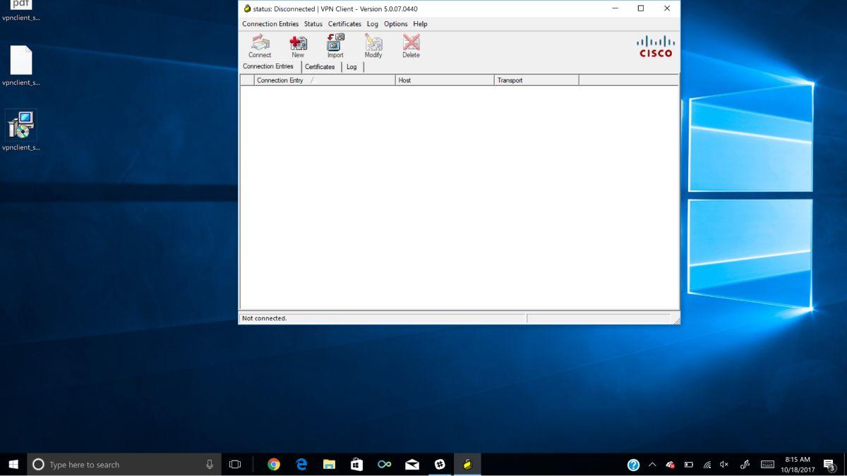 How to install Cisco VPN client on Windows 10 | TechRadar