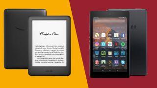 Amazon Fire tablet vs Amazon Kindle