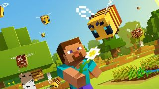 Minecraft Boys Size 6 Golden Armored Steve Spider Fighter 3-Piece Set