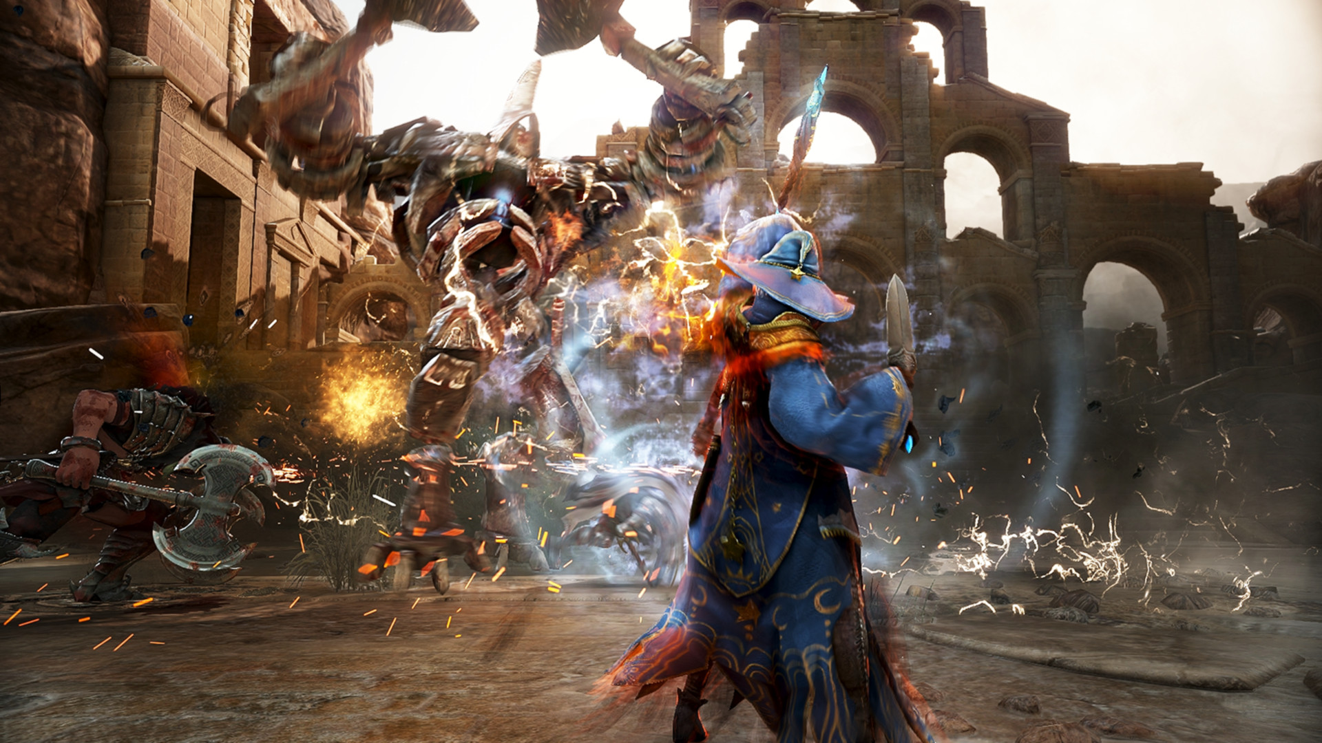 Try out MMORPG Black Desert's PlayStation 4 beta right now