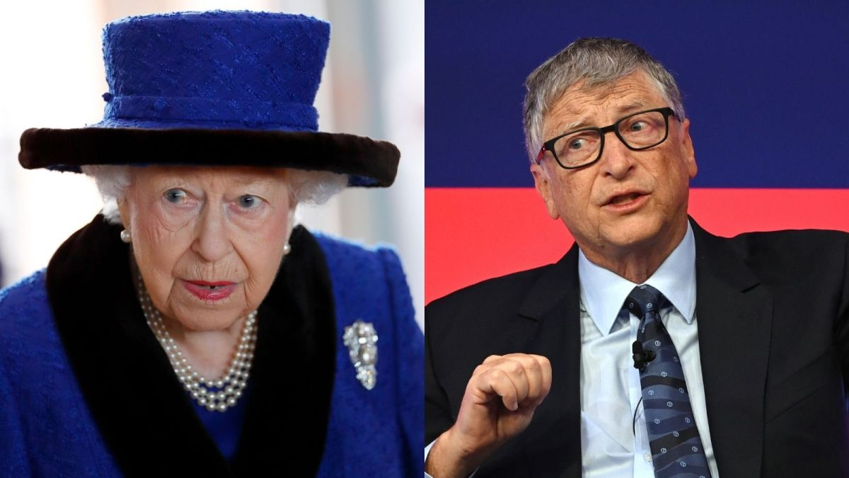 The Queen's fans outraged after Bill Gates breaks royal greeting protocol