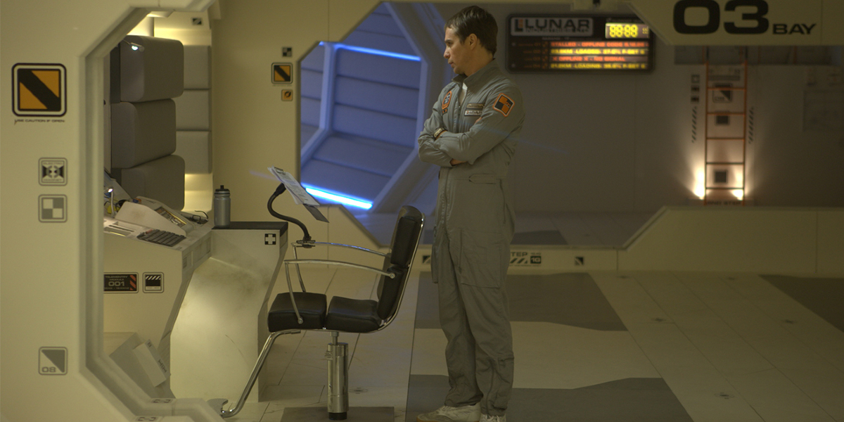 Sam Rockwell in Moon