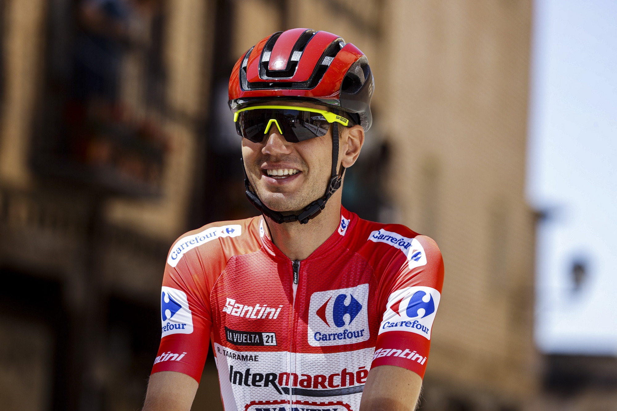 Vuelta Espana 2021 - 76th Edition - 4th stage El Burgo de Osma - Molina de Aragon 163,9 km - 17/08/2021 - Rein Taaramae (EST - Intermarche' - Wanty - Gobert Materiaux) - photo Luis Angel Gomez/BettiniPhoto©2021