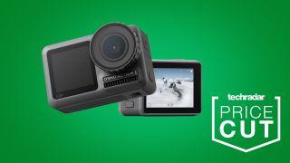 cheap action camera deals DJI Osmo Action
