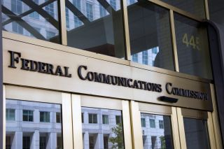 Exterior of the FCC building in Washington, D.C.