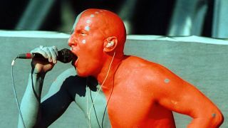 Keenan onstage with Tool in 2002