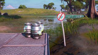 Fortnite No Fishing Signs