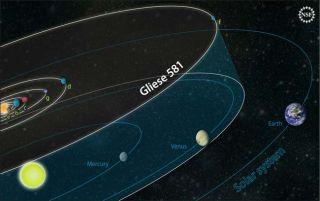gliese 581 exoplanet