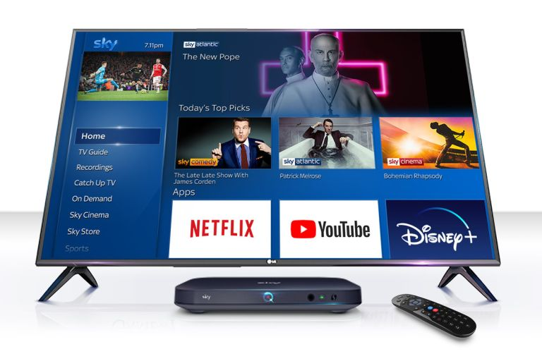 Sky Q Netflix Disney Plus Amazon Prime Video
