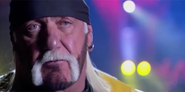 Hulk Hogan sad in an interview