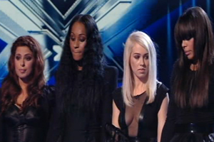The X Factor: Kandy Rain are first out!