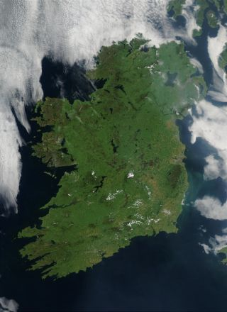 NASA Shows Ireland From Space for St. Patrick's Day