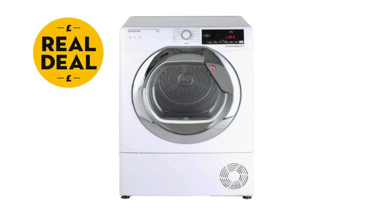 Cheap tumble dryer: Hoover DXC9TCG Freestanding Condenser Tumble Dryer