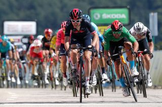 Geraint Thomas (Ineos Grenadiers) held on to win stage 5 of the Dauphiné