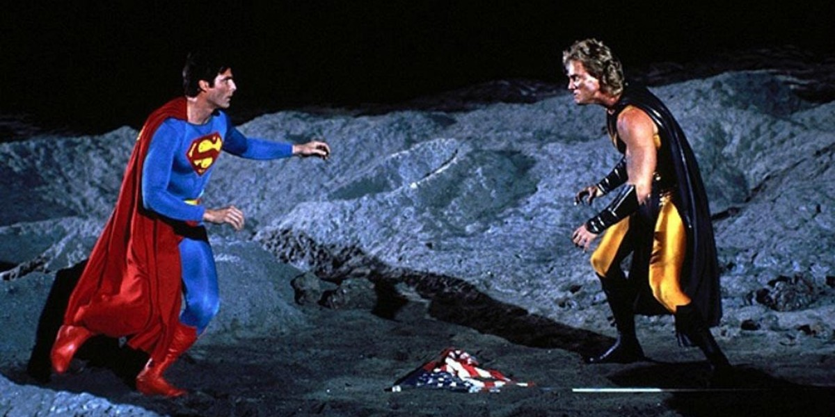 Christopher Reeve, Mark Pillow - Superman IV: The Quest For Peace
