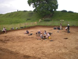 The excavation of the massive hillfort has taken five years.