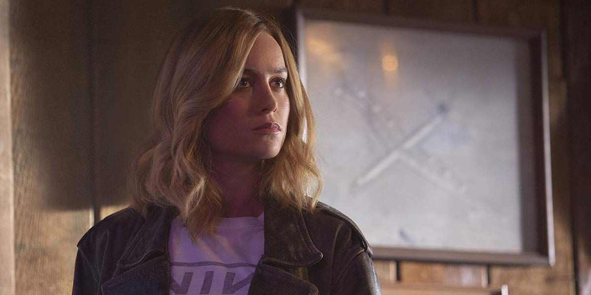 Brie Larson as Carol Danvers in Captain Marvel`