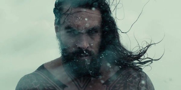 Aquaman in storm Justice League