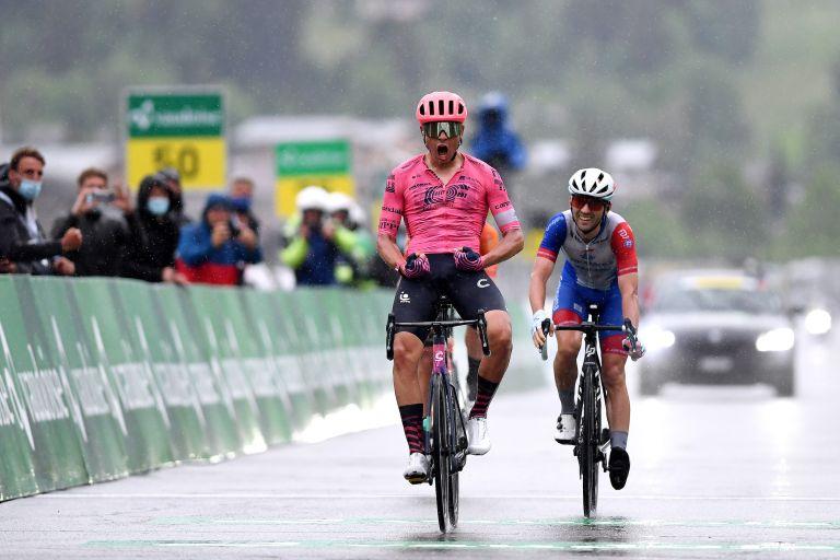 Stefan Bissegger wins stage four of the Tour de Suisse 2021