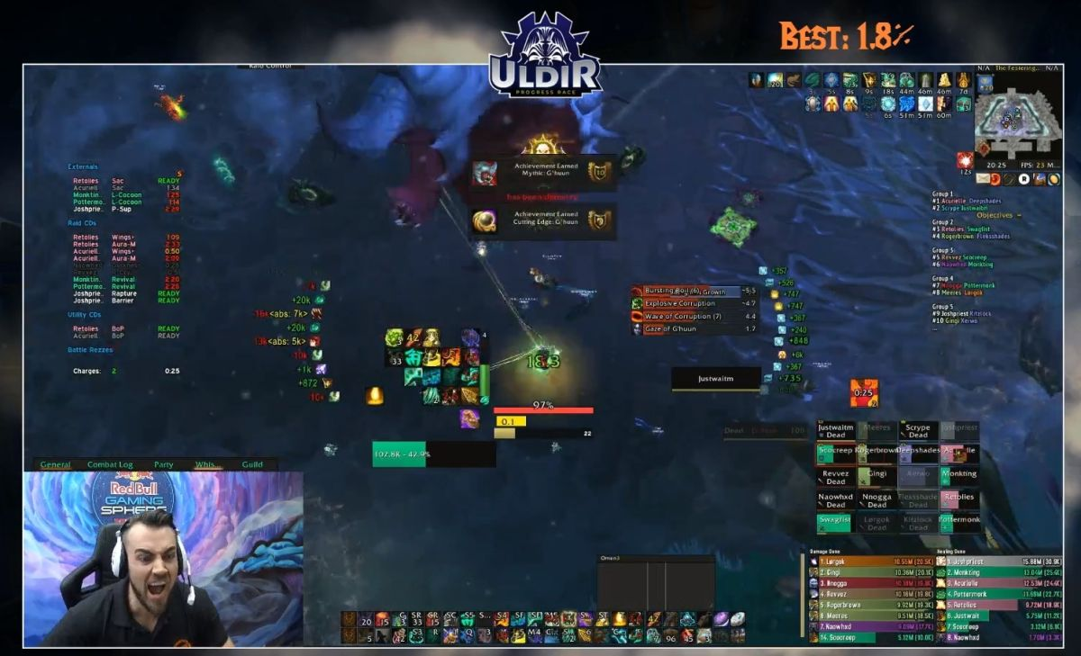 World of Warcraft guild Method clears mythic Uldir and claims world-first G'huun kill
