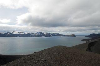 Deception Island, Antarctic volcano