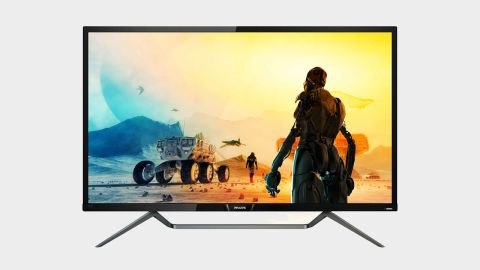 """Philips Momentum 436M6VBPAB 4K monitor review: """"A lovely display for gaming, but does bigger always mean better for all gaming setups?"""""""