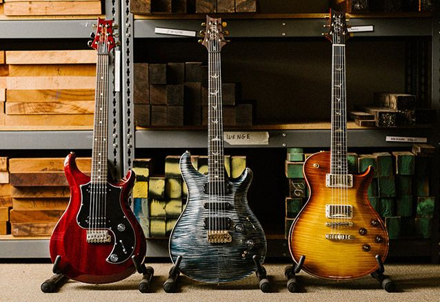PRS Guitars Unveils Core and S2 Series Guitar Lineup for 2017