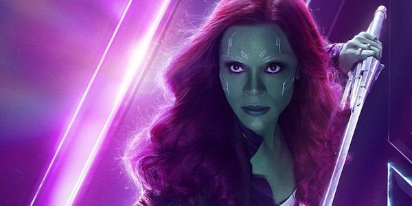 Gamora's Infinity War poster