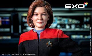 Figure of Captain Kathryn Janeway