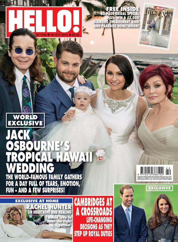 Family Joy As Jack Osbourne Marries