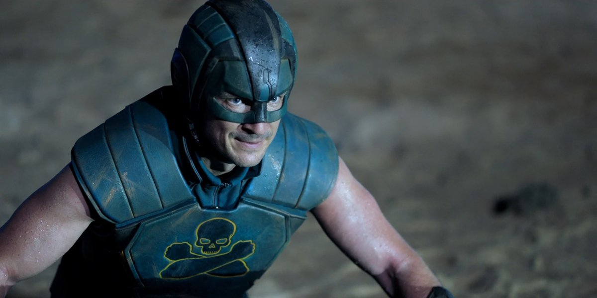 TDK (Nathan Fillion) in The Suicide Squad