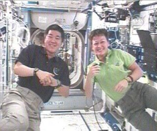 Station Astronauts Eager for Orbital Houseguests