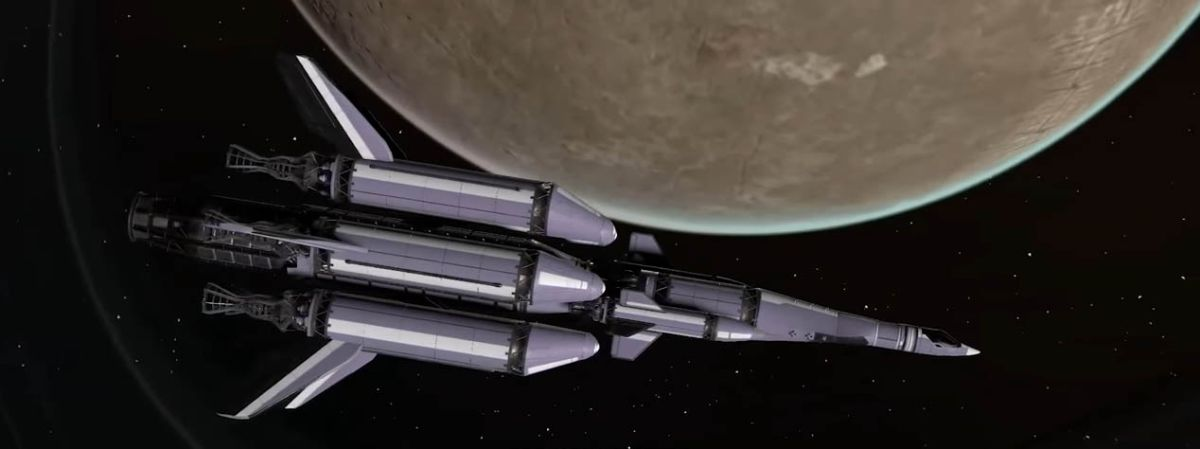 Kerbal Space Program 2 trailer shows off nuclear propulsion, metallic hydrogen and torchships