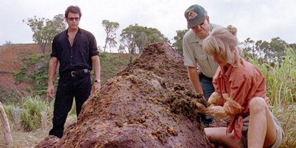 the poop in Jurassic Park
