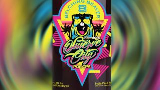 The Swerve City IPA label