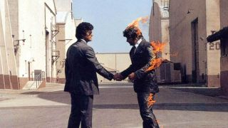The cover of Pink Floyd's Wish You Were Here