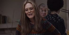 The Glorias Trailer Shows Julianne Moore's Awesome Transformation Into Gloria Steinem