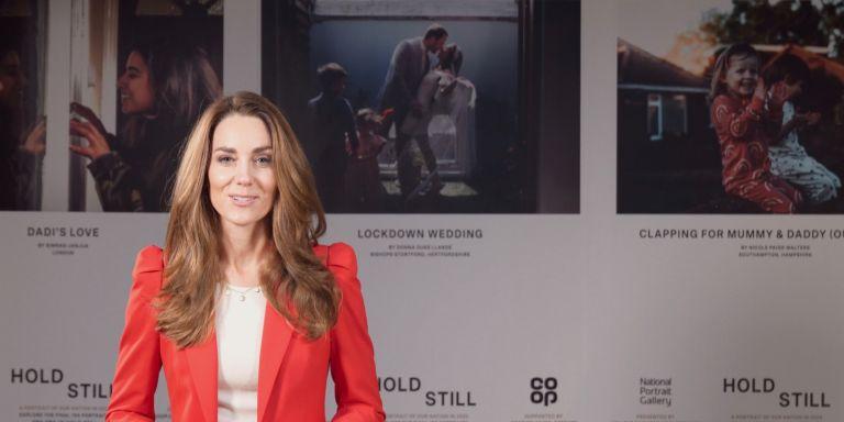Duchess of Cambridge presenting the Hold Still 2020 exhibition