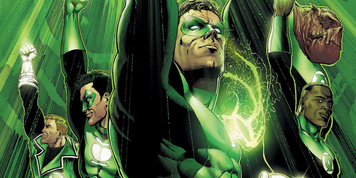 Green Lantern Corps main characters