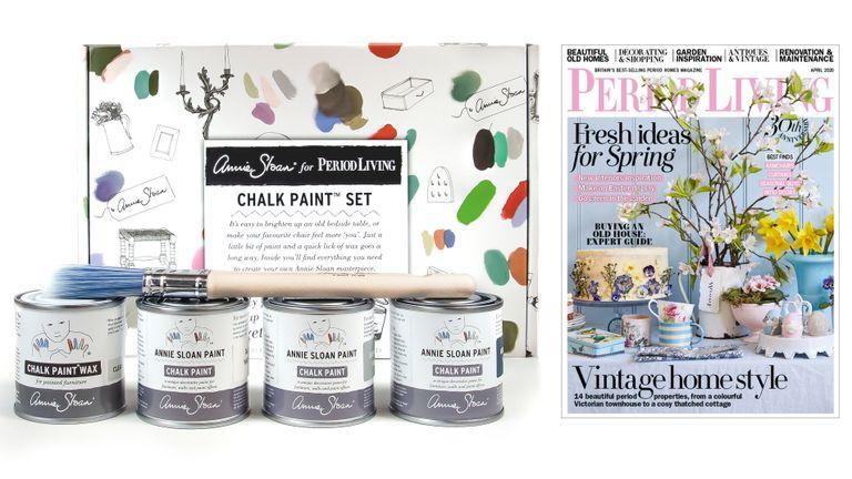 Period Living Annie Sloan Chalk Paint set subscription offer