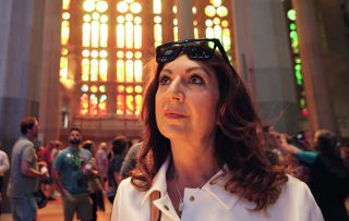 Jane embarks on a mega-cruise around the Med for her latest adventure and among the five stop-offs is Barcelona, where she's left awestruck by the yet-to-be-finished church, the Sagrada Família.