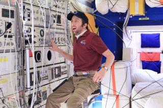 """""""The Big Bang Theory"""" ISS Set"""
