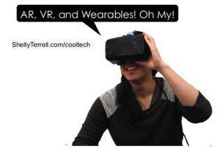 Augmented Reality, Virtual Reality and Wearables for Learning! Oh My!