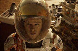 Astronaut Mark Watney in 'The Martian'