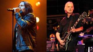 Alter Bridge's Myles Kennedy and Led Zeppelin's Jimmy Page