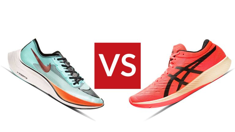 Nike ZoomX Vaporfly NEXT% vs ASICS Metaracer